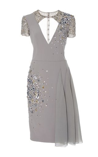 Cut Out Cocktail Dress by GEORGES HOBEIKA for Preorder on Moda ...