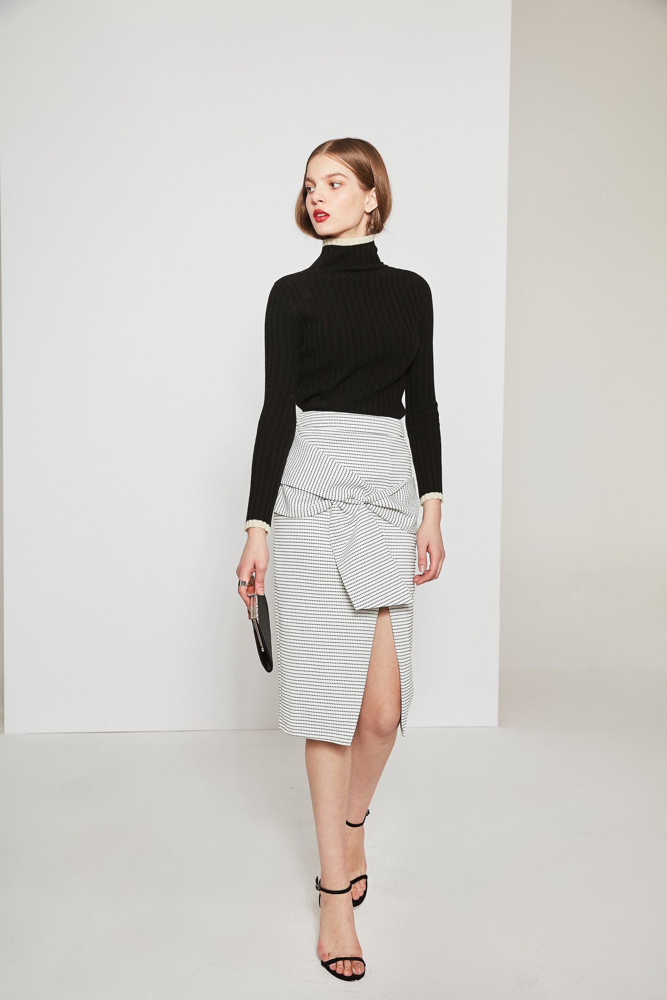 #AdoreWe Few Moda, Minimalistic Fashion Brands Online - Designer Few Moda Beautiful Manor Skirt FW0252 - AdoreWe.com