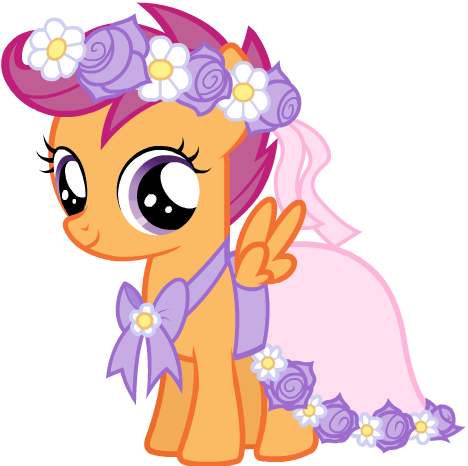 Scootaloo S Flower Girl Dress Yes Scootaloo Is Actually Wearing A Dress Little Pony My Little Pony Drawing Mlp My Little Pony This is the normal vn_scootaloo model made by commanderjackshitcommanderjackshit.deviantart.com including. scootaloo is actually wearing a dress