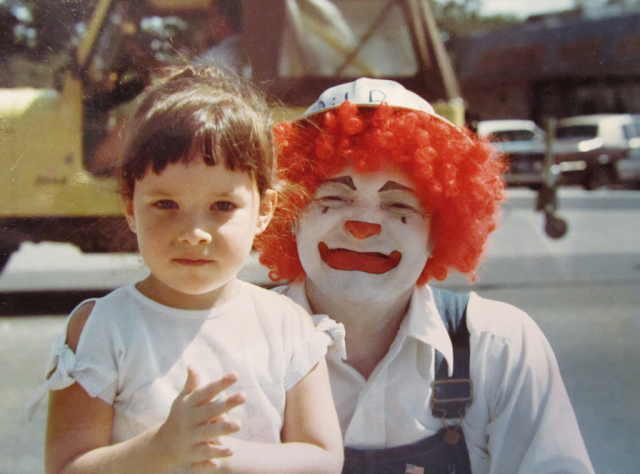 vintage everyday: 12 Old Photos of Clowns That Will Haunt Your Dreams