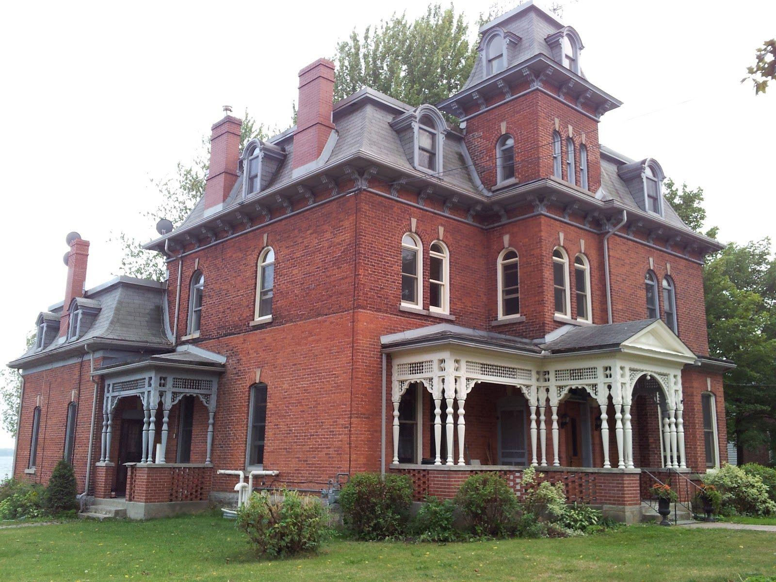 Best Victorian W Second Empire Mansard Roof Gingerbread 400 x 300
