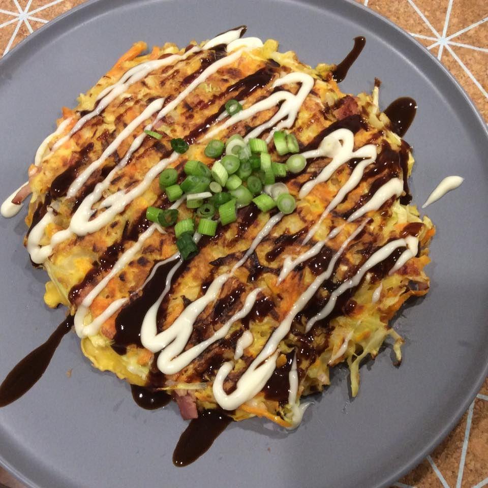 Okonomiyaki A Cheap Easy Tasty Family Meal Delicious Family Meals Food Recipes