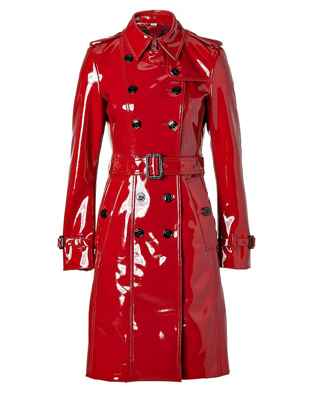 266e081afaac Burberry London Queenscourt Trench in Lacquer Red   Fall   Winter ...