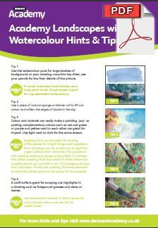 Pdf File Instructions Academy Landscapes With Derwert Watercolour