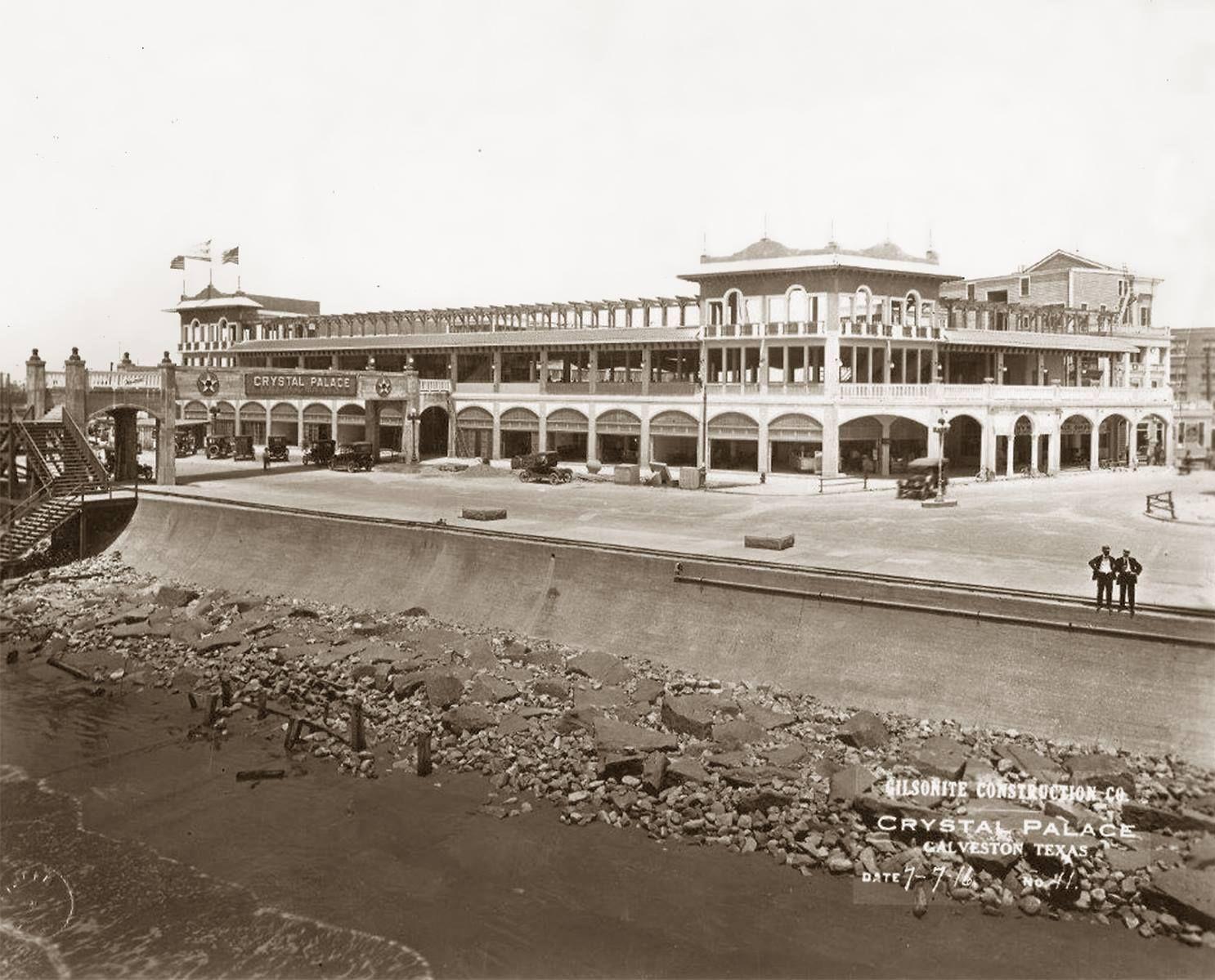 Palace  C B Crystal Palace Galveston Beach