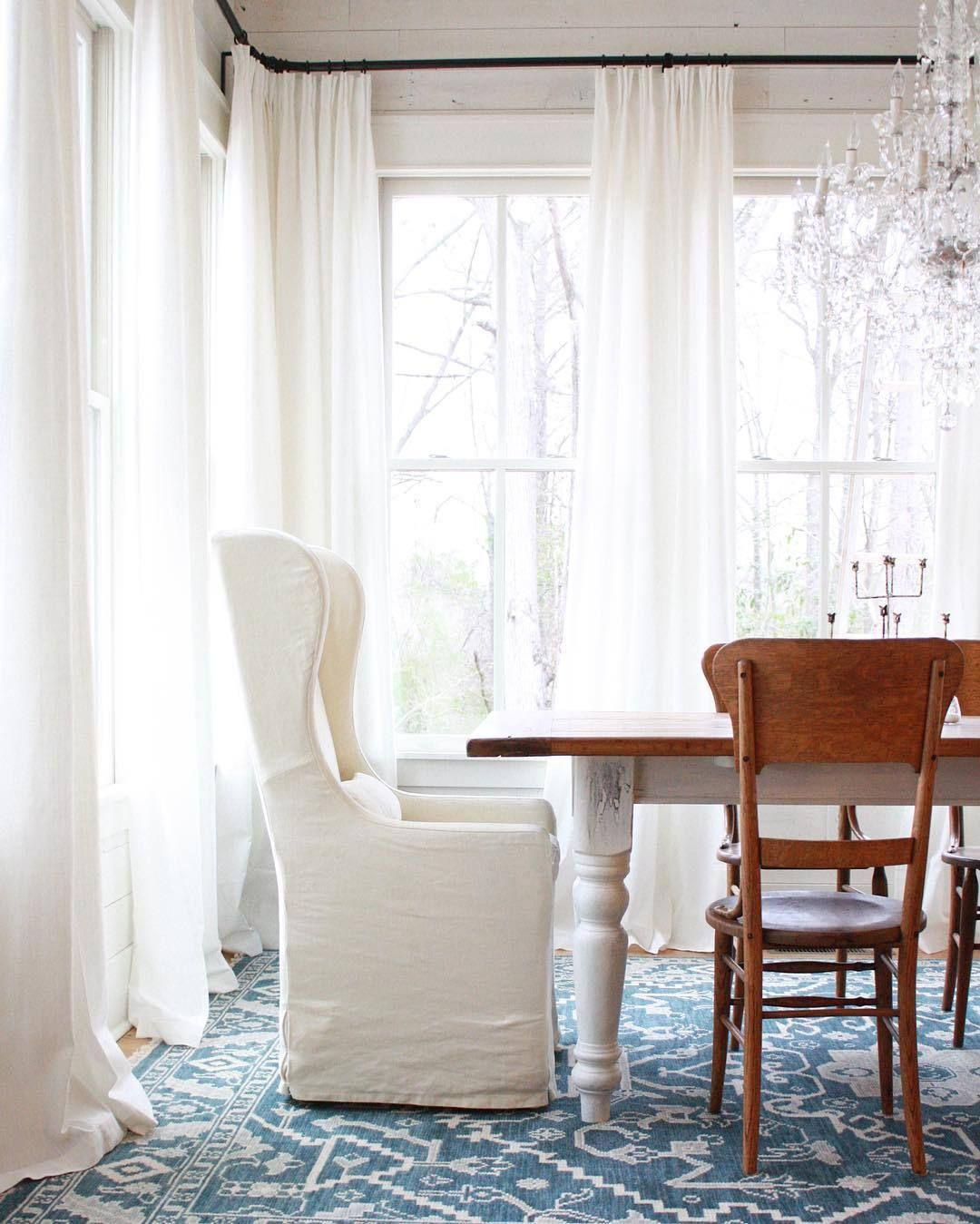 The Ikea Curtains That Every Designer Swears By White Paneling