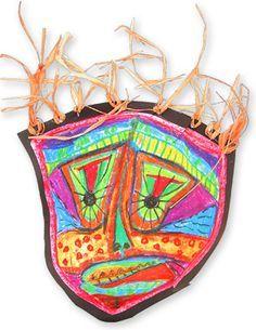 MASK MAKING Easy Art Craft Activities Primary School