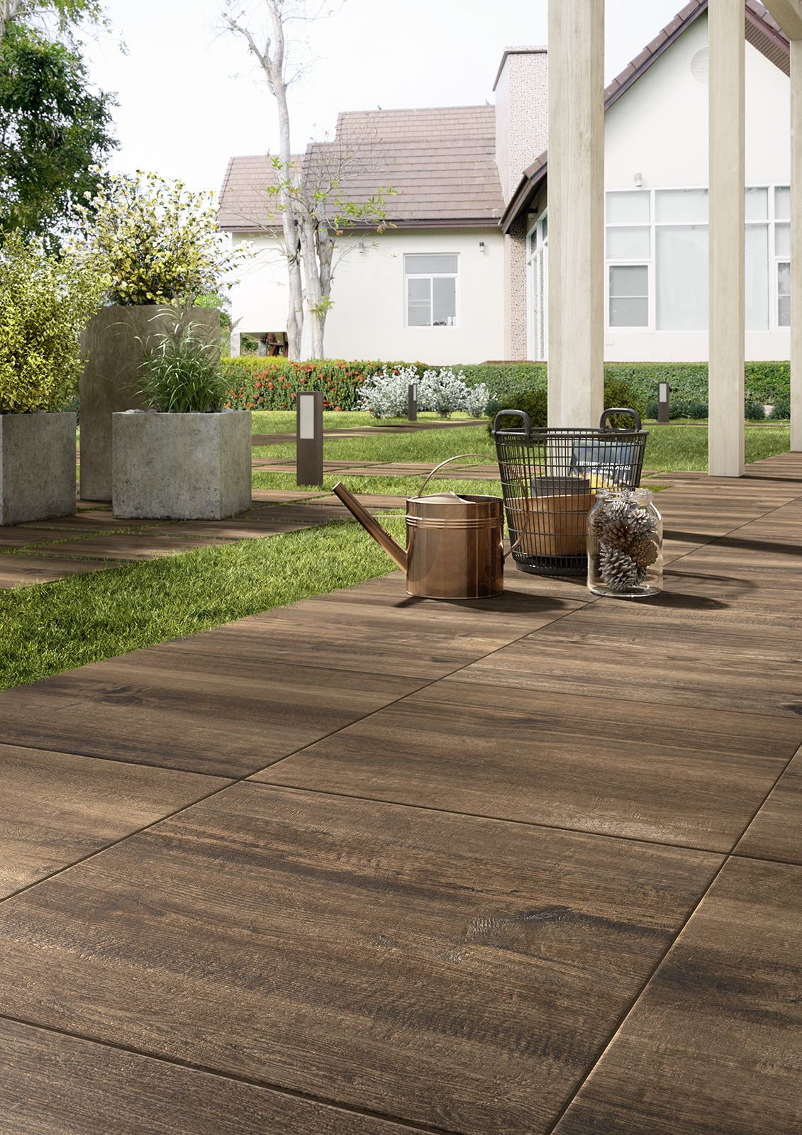 Gut gemocht Treverkhome20 - outdoor wood effect thick tiles #Marazzi NF61