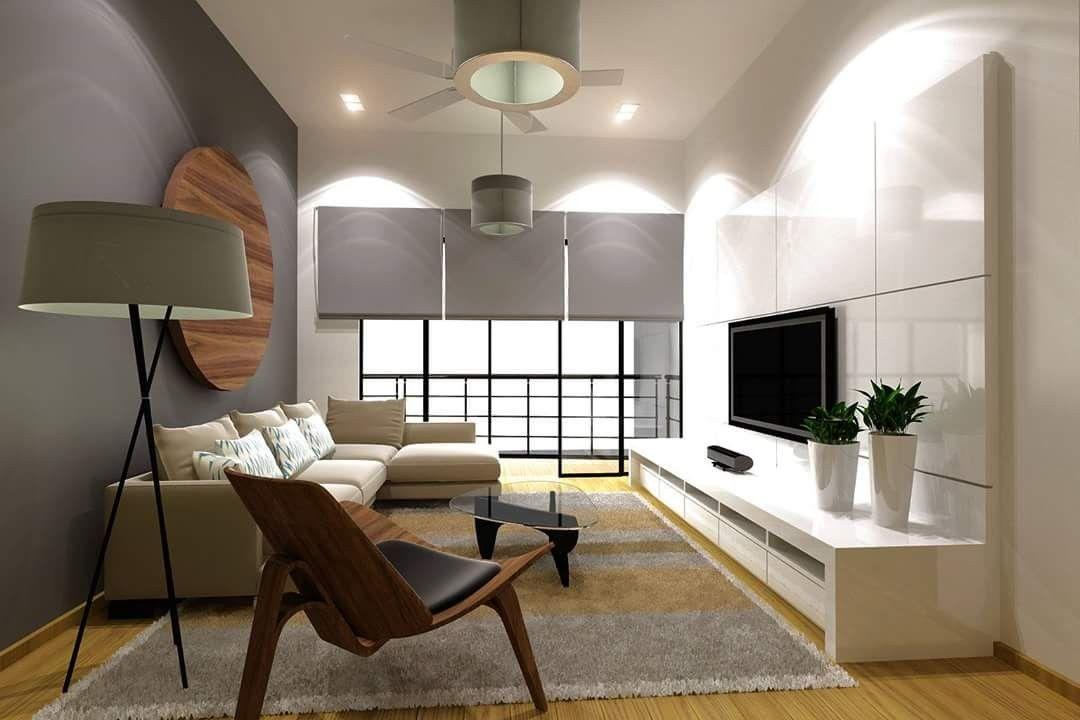Pin By Nurfaiz Foat On 850sqf Modern Condo Living Room Condo