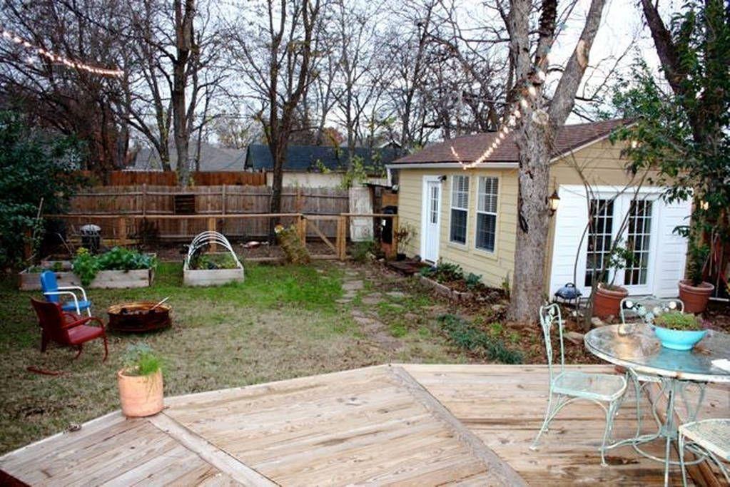 Cute Backyard Casita N Oak Cliff Backyard Patio Home