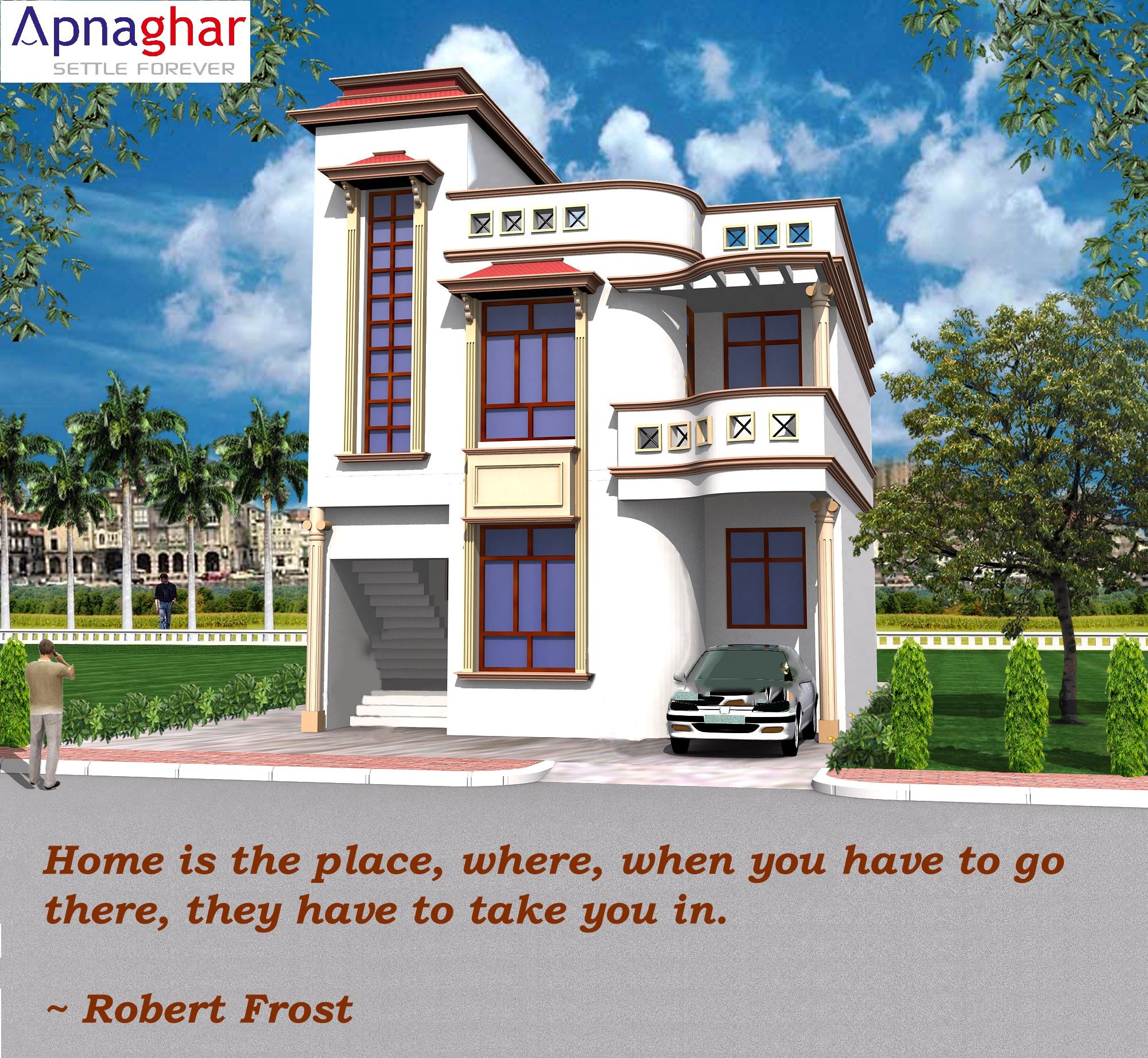 Checkout Our Beautiful Home Designs Gallery At Www Apnaghar Co In Beautiful Home Designs Architectural Services House Design