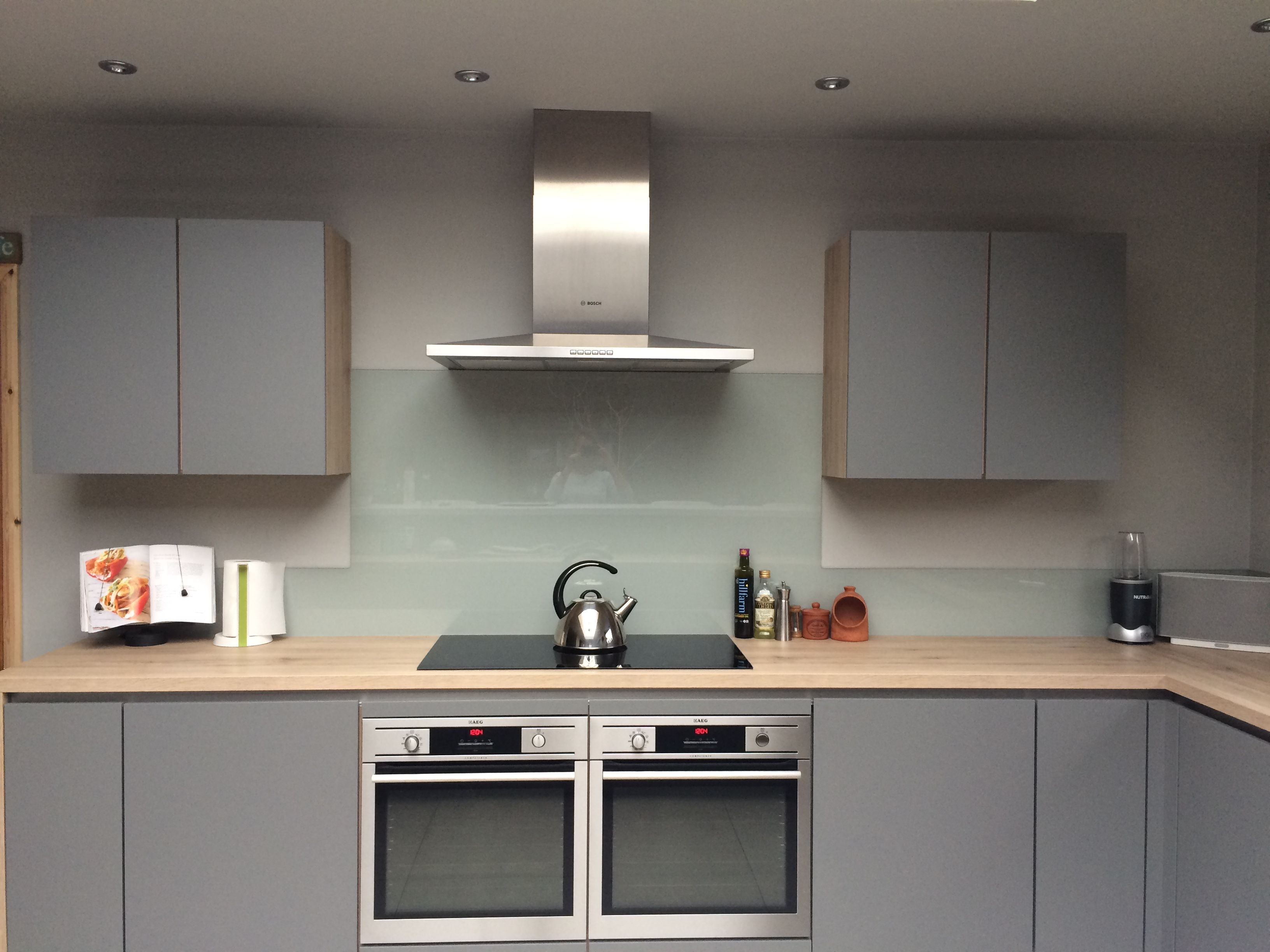 Best Our Kitchen Finally Matt Grey Handless Units Oak 400 x 300
