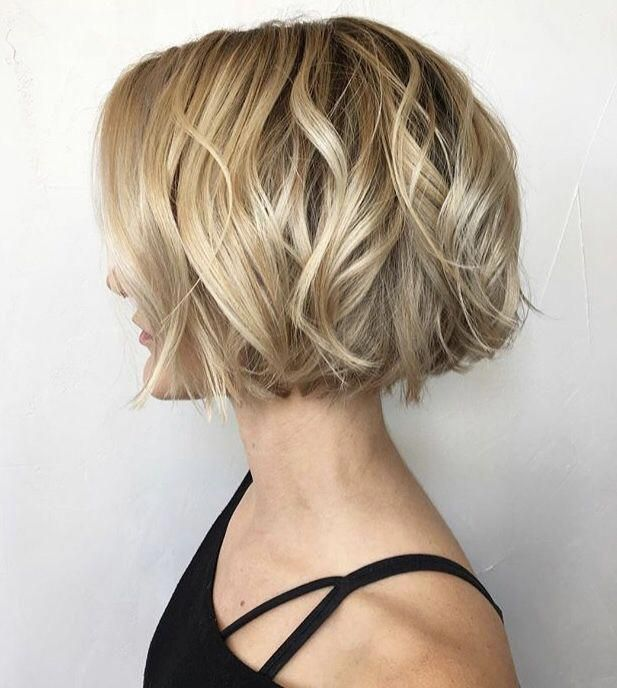 Top 15 Side Part Bob Haircuts Trending in 2019 | Short hair styles, Chin length hair, Thick hair ...