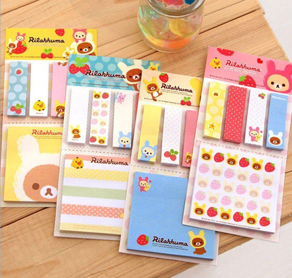 http://www.ebay.com.au/itm/Lovely-kawaii-rilakkuma-cute-bear-memo-post-it-notes-message-notes-pads-sticker-/181744543021?hash=item2a50d1a52d:g:IGIAAOSwBLlVU3~T