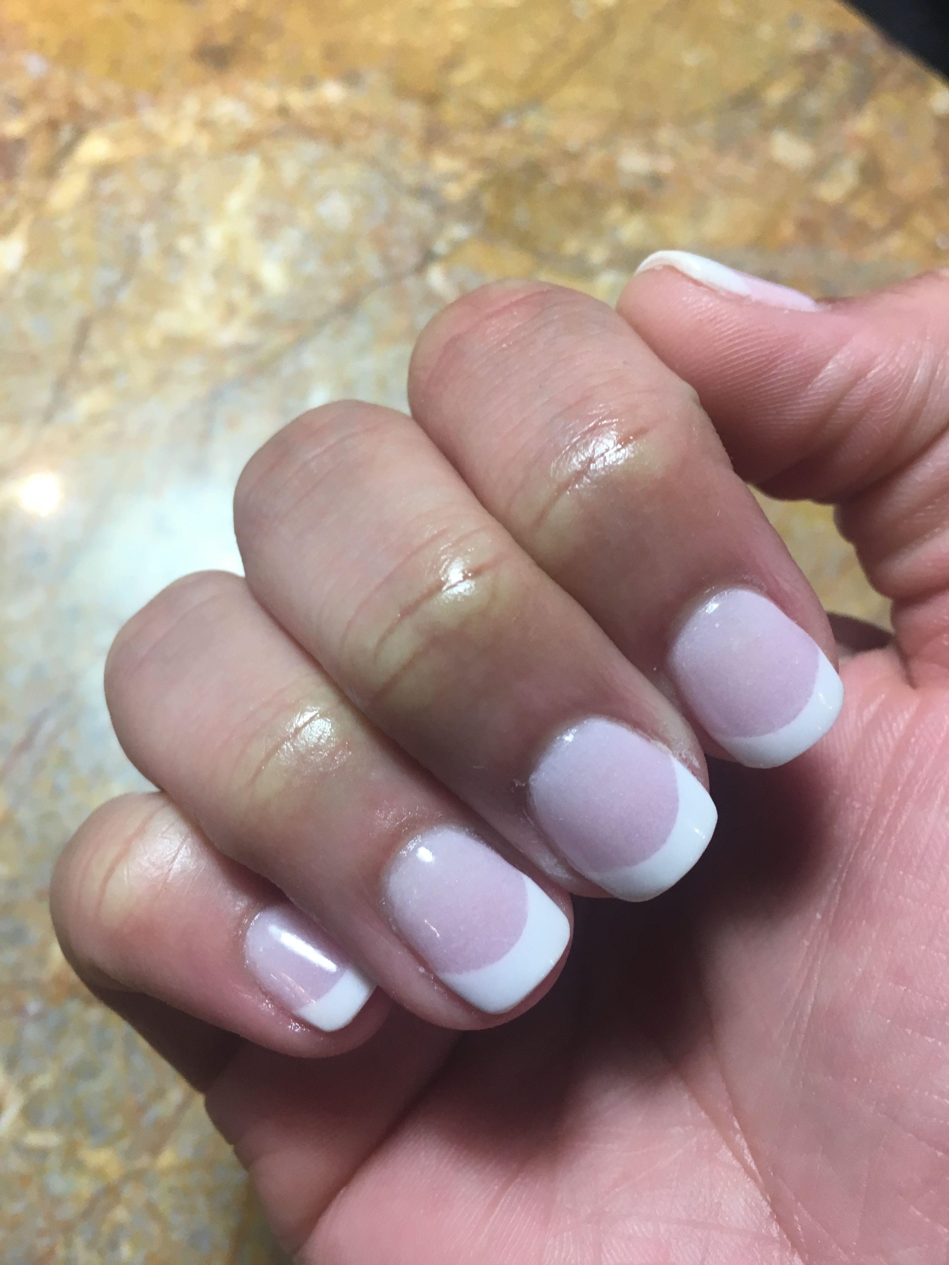 NexGen - French | Nails | Pinterest