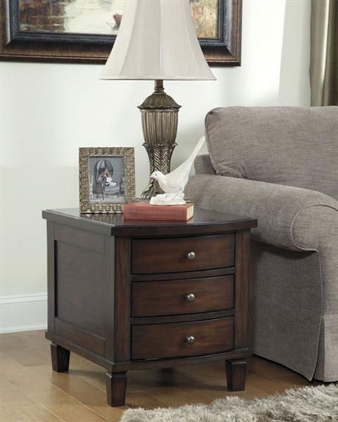 ashley furniture holloway storage end table  living room