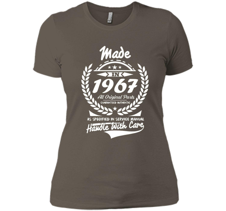Made in 1967 tshirt 50th Birthday gift Tshirt