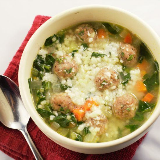 Italian Wedding Soup Has The Clic Comforts Of Meat And Pasta In A Creamy Rich