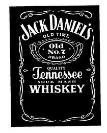 Alcoholic Beverages Namely Tennessee Sour Mash Whiskey Jack Daniels Logo Jack Daniels Black Jack Daniels