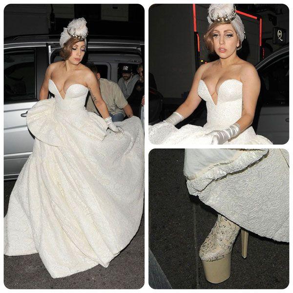 Vestidos de novia de Lady Gaga | Vestidos | Pinterest | Lady gaga ...
