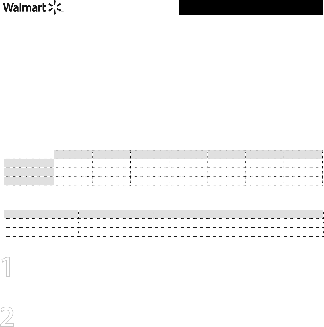 Free printable walmart job application form walmartjob free printable walmart job application form falaconquin