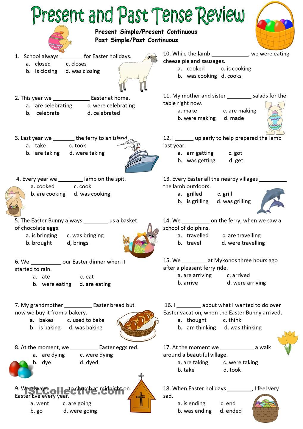 Writing future tense of verb worksheet turtle diary - Present Past Simple Continuous Test Verb Tensespast Tensemultiple Choicecorrectworksheetsmenupresents
