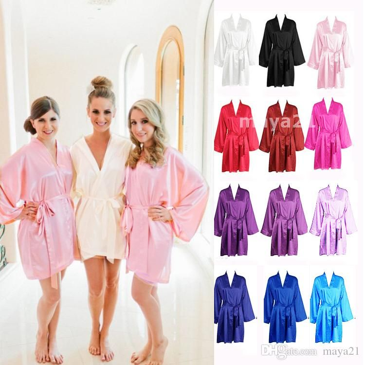 e5138ba7cf Wholesale cheap bridal party robes online