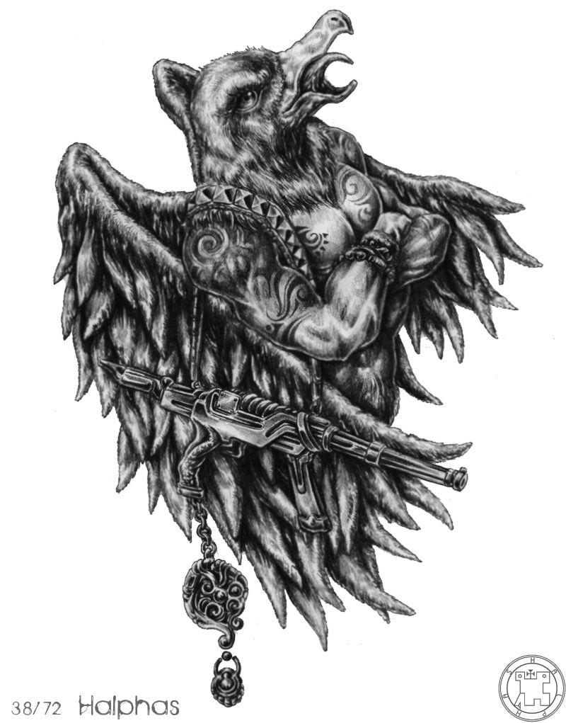 Chi tiết 72 Con Quỷ Của Vua Solomon - HALPAS bài tarot