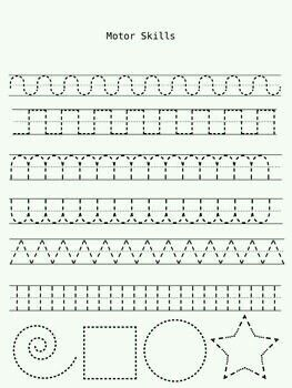 Pattern tracing practice warmup | Learning schedule / homeschooling ...