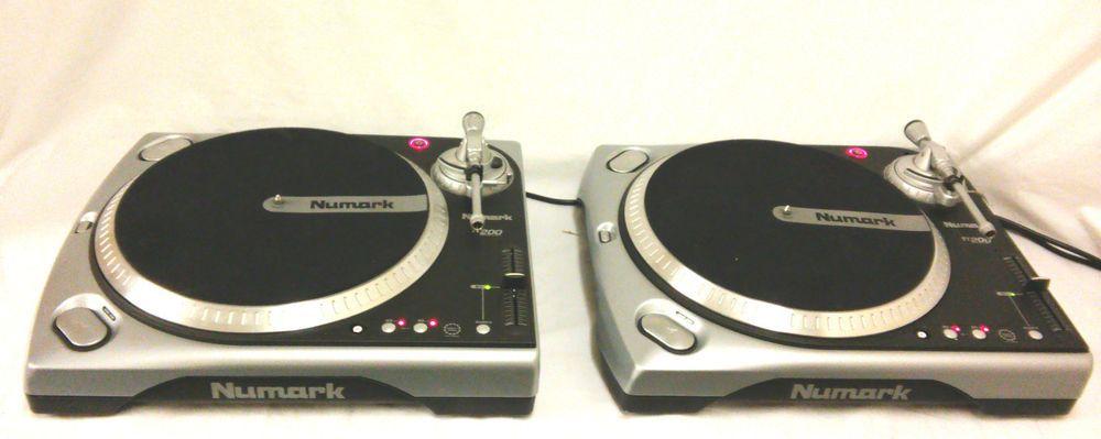 Numark Tt 200 Professional Turntables Dual Startstop 12 Vinyl Record Decks Dj Online Ebay Turntable