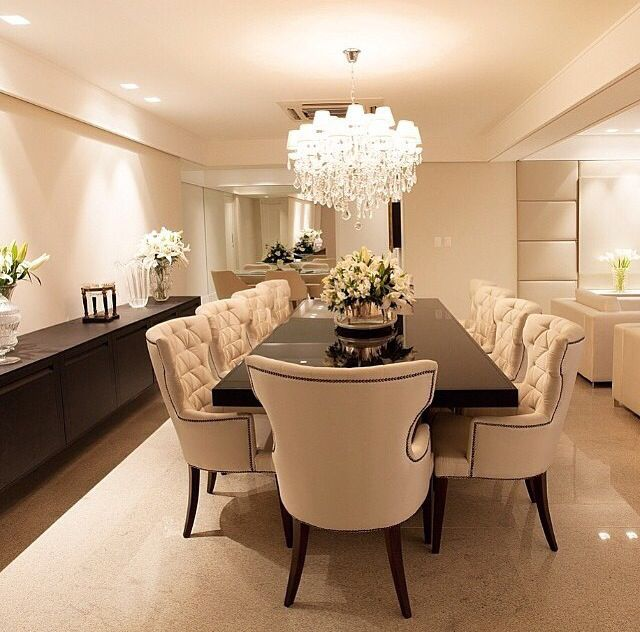 Dinner Room, Home Ideas, Dining Rooms, Mix, Home Decor, Interior Design,  Sala Clean, Dinning Set, Celine, Crown, Dining Room, Cabinets, Decorations,  ... Part 98