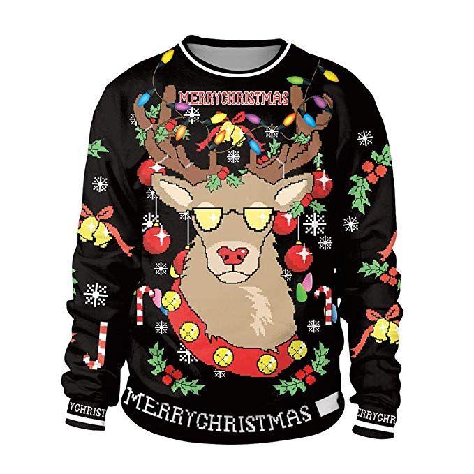 Weihnachtspullover Damen ] Christmas Sweater für Damen