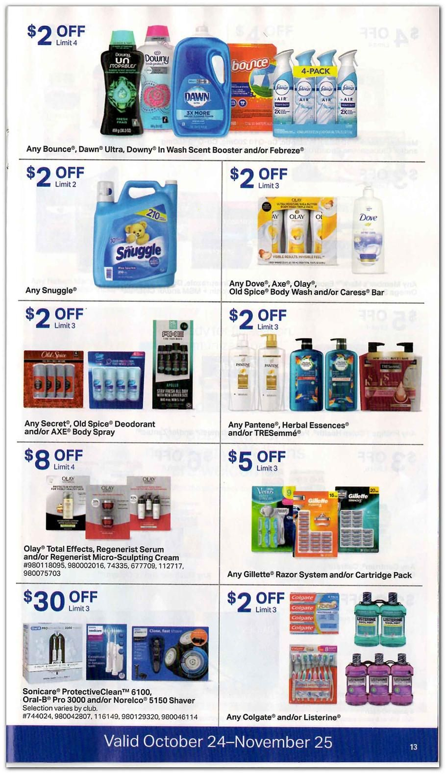 Sam S Club Featured 2018 Ads And Deals Wash Scent Booster Sams