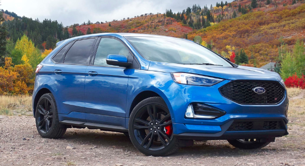 Metro Ford Of Okc Reviews The 2019 Ford Edge St Performance Suv Ford Edge New Ford Edge 2019 Ford