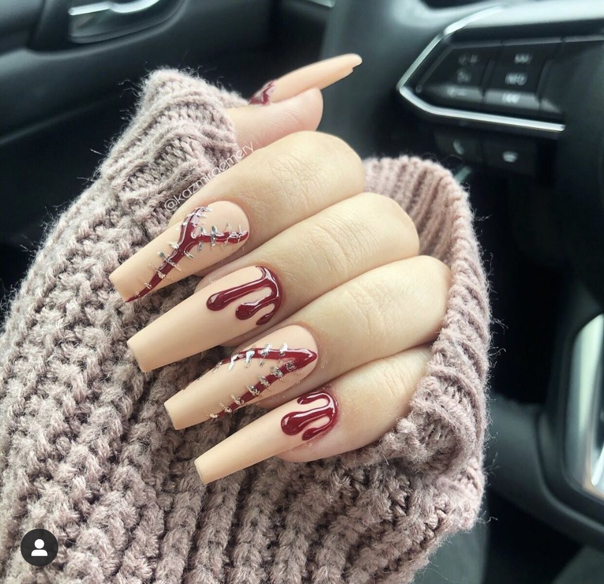 Pin by Ashley Floyd on Fall/Halloween | Halloween nails ...