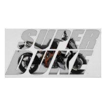 2012 Super Duke R Poster