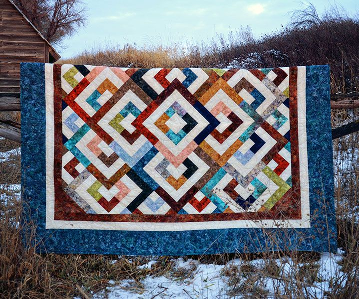 Pixie Party Diamond Double 9665 42 | Quilt Patterns and Books ... : diamond double quilt pattern - Adamdwight.com