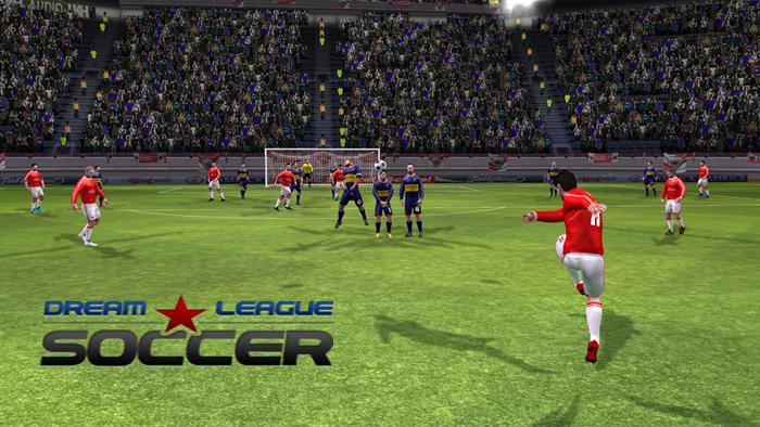 Dream League Soccer 1 55 Mod Apk Data Unlimted Gold Coins Download Soccer Soccer Training Soccer Images