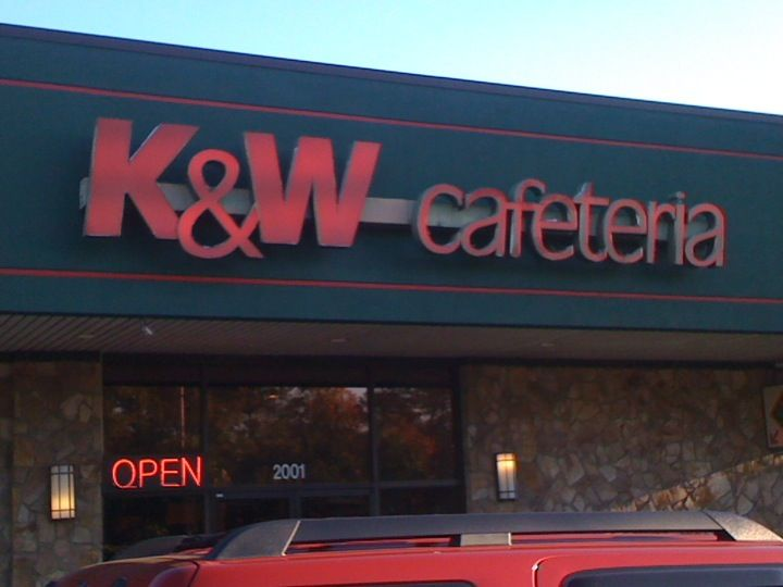 K W Cafeteria In Myrtle Beach Sc Myrtle Beach South Carolina