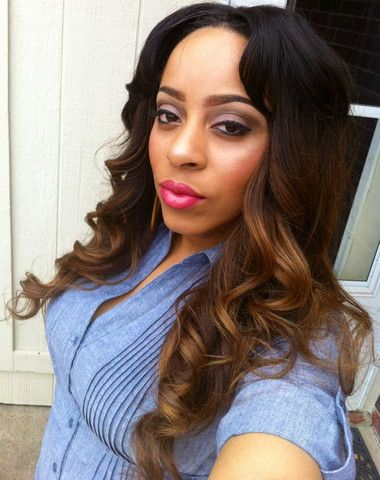 Magnificent Full Two Tone Sew In Fabulous Ombre Hairstyle All Things Short Hairstyles Gunalazisus