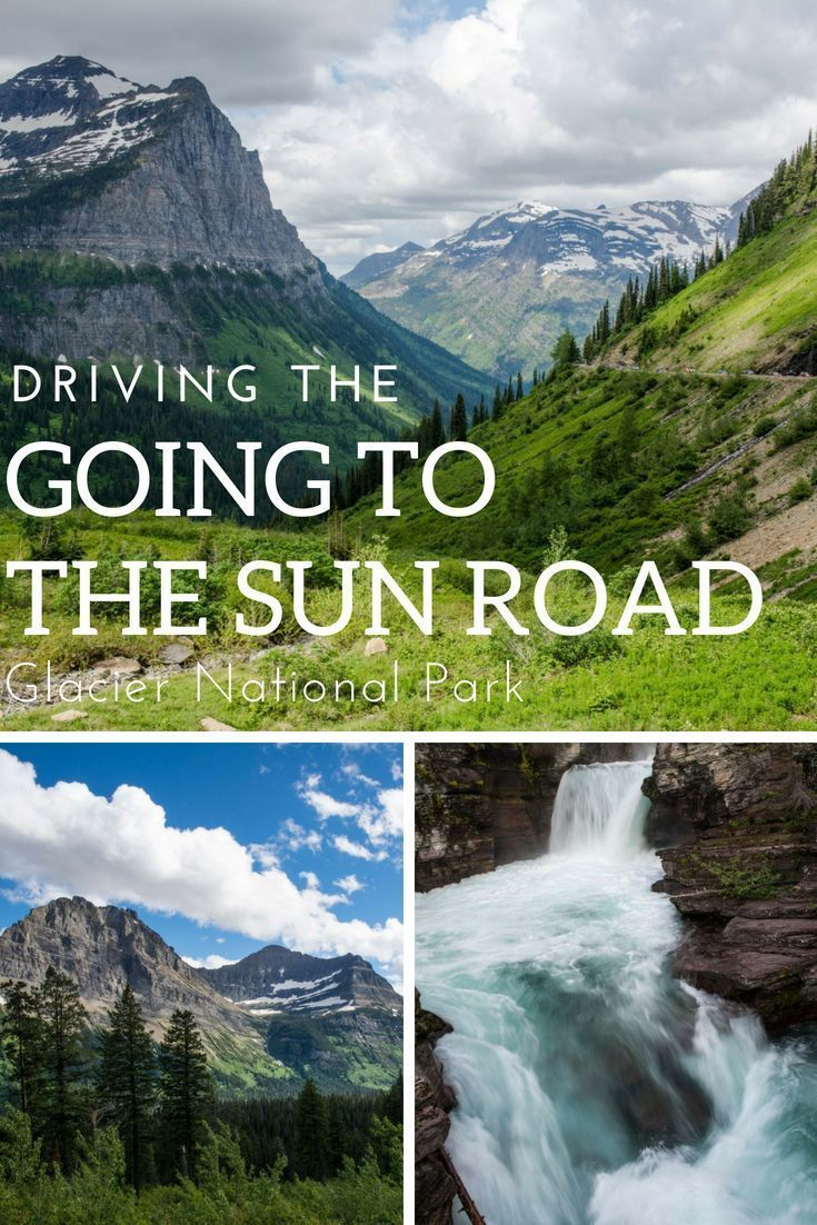 the Going to the Sun Road - Glacier Nat'l Park An epic road trip awaits visitors going to Glacier National Park. The Going to the Sun Road combines engineering ingenuity with dramatic views as you travel the width of this amazing national park.An epic road trip awaits visitors going to Glacier National Park. The Going to t...