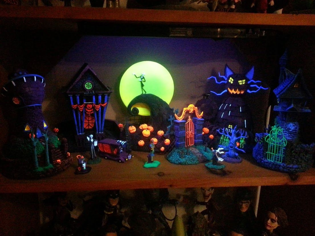 The nightmare before christmas black light village - Google Search ...
