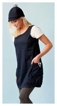 Schnittmuster tunika kleid damen kostenlos