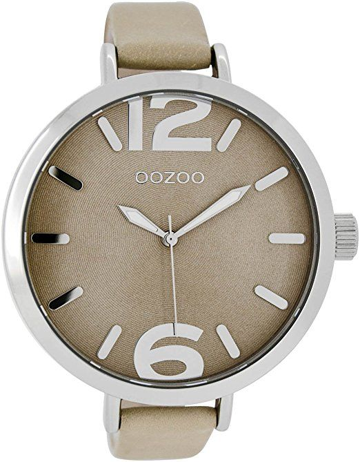 Oozoo Damenuhr mit Lederband 48 MM Sand/Sand C7510