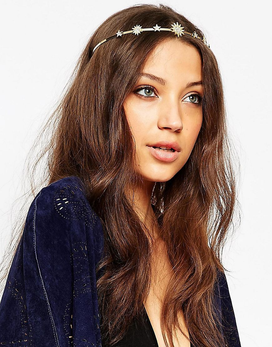 Image 1 of ASOS Pavé Star Crown Headband