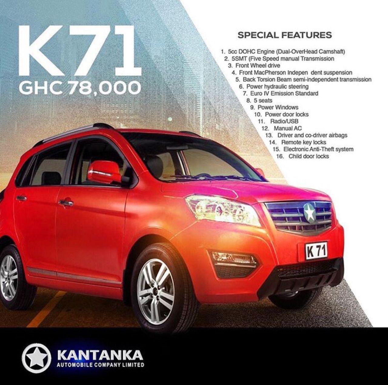 Kantanka Automobile Company Limited www.kantanka.com // IG ...