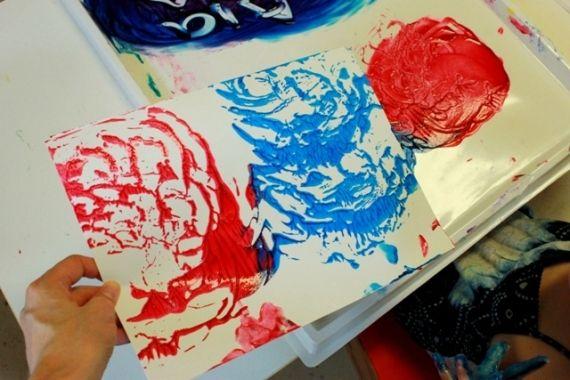 Sensory Sand Finger Paint for Toddlers 27