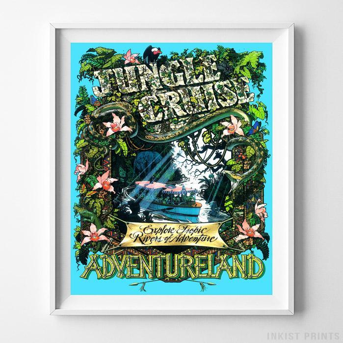Disneyland Jungle Cruise Print | Pinterest | Cruises and Products