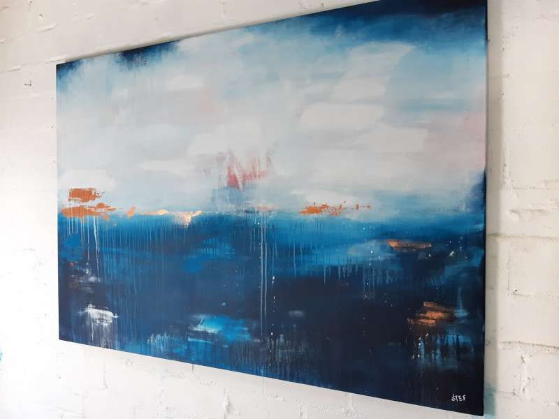deep sea 4 grossformatige kunst auf leinwand atelier stefanie rogge kunstproduktion malerei bedrucken lassen günstig panoramafoto