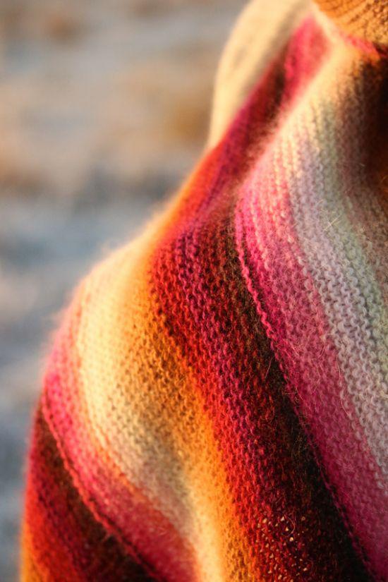 Kate Davies' Bohus scarf by Kerstin Olsson
